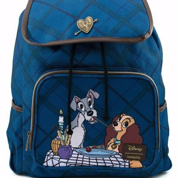 Loungefly Bags Disney Lady And The Tramp Backpack Poshmark